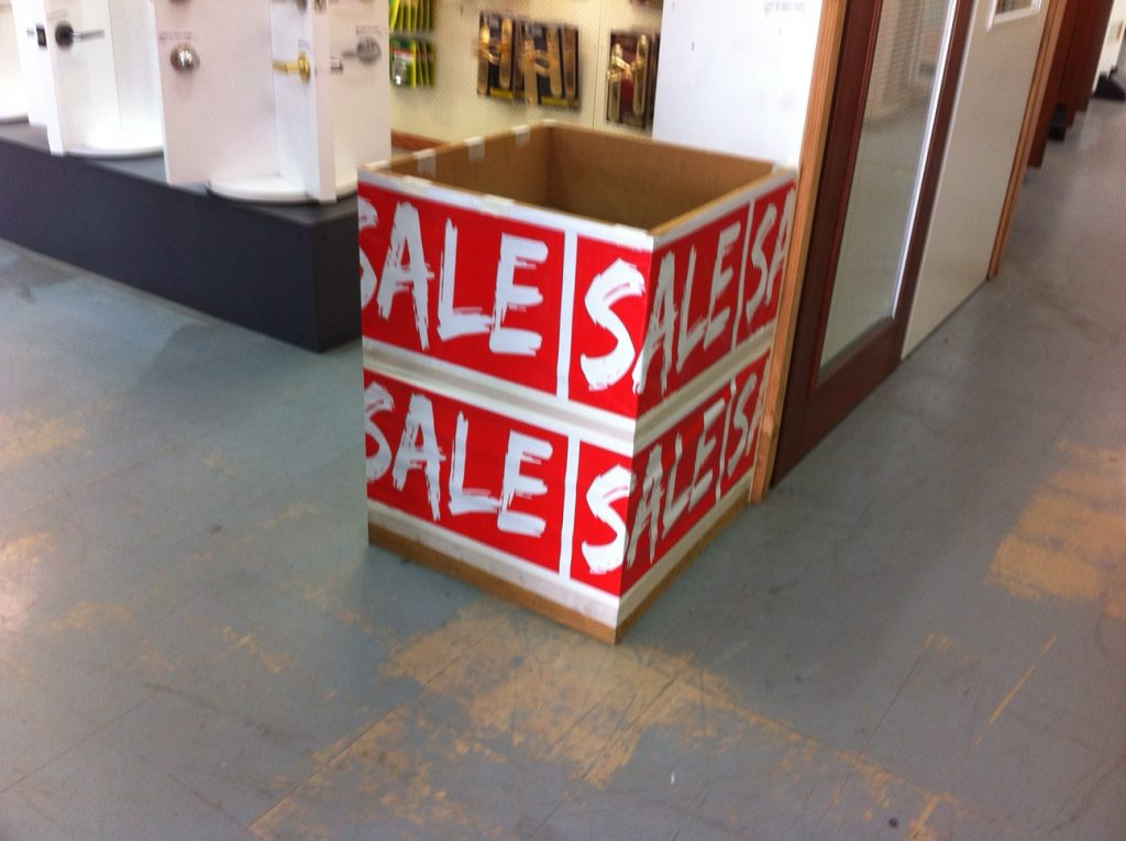 Bin Wrap - Doors Plus Sale