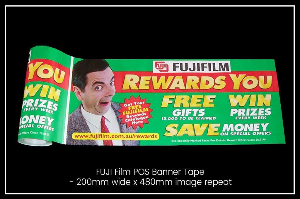 Banner Tape - Fuji Film