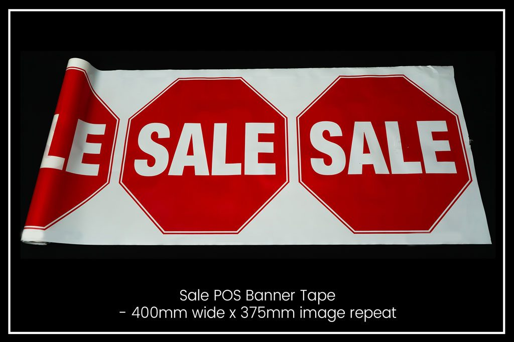 Banner Tape - Sale